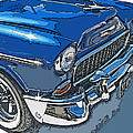 1955 Chevy Bel Air Front Study by Samuel Sheats