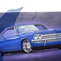 1960s Chevrolet Poster by Fred Otene