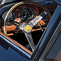 1963 Apollo Steering Wheel     by Jill Reger