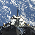 A Partial View Of Space Shuttle by Stocktrek Images