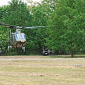 An Agusta A109 Helicopter by Luc De Jaeger