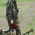 Belgian Paratroopers Red Berets by Luc De Jaeger