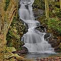 Buttermilk Falls by Stephen  Vecchiotti