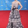 Dianna Agron Wearing A Carolina Herrera by Everett