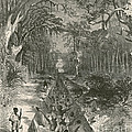 Grants Canal, 1862 by Photo Researchers