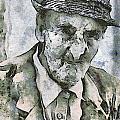 Man Portrait by Odon Czintos