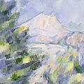Mont Sainte-victoire by Paul Cezanne
