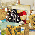 Postcard And Old Papers by Setsiri Silapasuwanchai