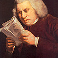 Samuel Johnson, English Author by Photo Researchers