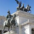 Vittoriano. Monument To Victor Emmanuel II. Rome by Bernard Jaubert