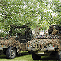 Vw Iltis Jeeps Used By Scout Or Recce by Luc De Jaeger