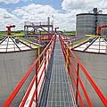 Corn Ethanol Processing Plant by David Nunuk