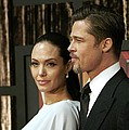 Angelina Jolie, Brad Pitt At Arrivals by Everett