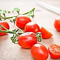 Cherry Tomatoes by Tom Gowanlock