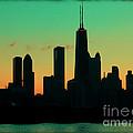 Chicago Skyline Cartoon by Sophie Vigneault