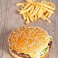 Fat Hamburger Sandwich by Sabino Parente
