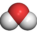 Water Molecule by Friedrich Saurer