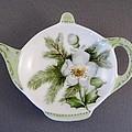382 Teabag Holder Green by Wilma Manhardt