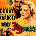 39 Steps, The, Robert Donat, Madeleine by Everett