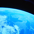 Earth Viewed From A Satellite by Stockbyte