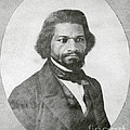 Frederick Douglass, African-american by Photo Researchers