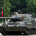 The Leopard 1a5 Mbt Of The Belgian Army by Luc De Jaeger