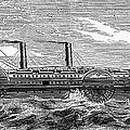 4 Wheel Steamship, 1867 by Granger