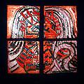 Jesus - Tile by Gloria Ssali