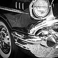 57 Chevy Black by Steve McKinzie