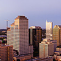 City Skyline Print by Jeremy Woodhouse