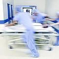 Emergency Hospital Treatment Print by
