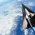 Saenger Horus Spaceplane, Artwork by Detlev Van Ravenswaay