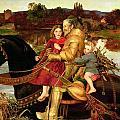A Dream Of The Past by Sir John Everett Millais