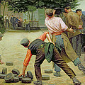 A Game Of Bourles In Flanders by Remy Cogghe