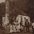 A Large African Americans Family Posed by Everett