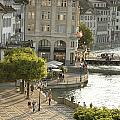 A Lucerne Street Scene In The City by Annie Griffiths