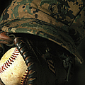 A Marines Athletic Gear by Stocktrek Images