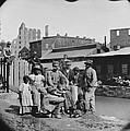 A Newly Freed African American Group by Everett