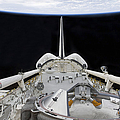 A Partial View Of Space Shuttle Print by Stocktrek Images