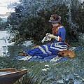 A Quiet Afternoon by William Henry Lippincott