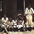 A Rural African American Family Seated by Everett