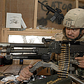 A Soldier Conducts An Observation by Stocktrek Images