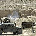 A U.s. Marine Fires A Mark 19-3 40mm by Stocktrek Images