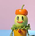 A Vegetable Doll by Yagi Studio