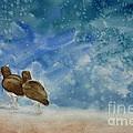 A Walk On The Beach by Estephy Sabin Figueroa