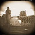 A Walk Through Paris 16 Print by Mike McGlothlen