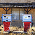 Abandoned Gas Pumps And Station by Dave & Les Jacobs