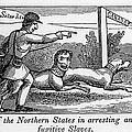 Abolitionist Political Cartoon by Everett