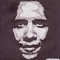 Abstract Obama by Angel Roque