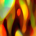 Abstract Rising Up Poster by Amy Vangsgard